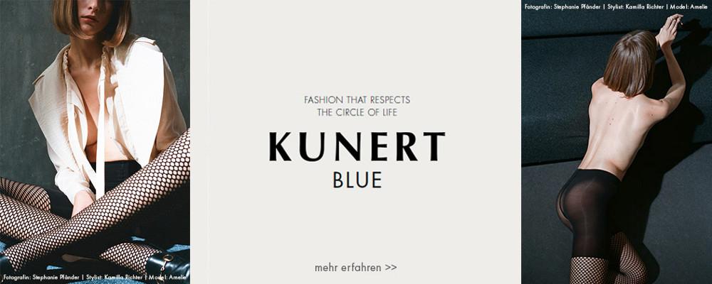 Kunert Blue umweltbewusste Netzstrumpfhose