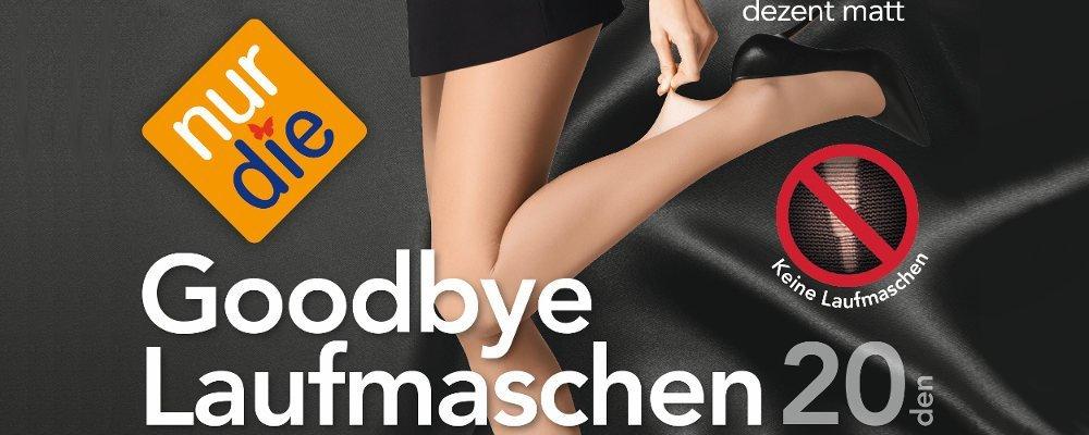 'Nur Die' Goodbye Laufmaschen 20 Strumpfhose