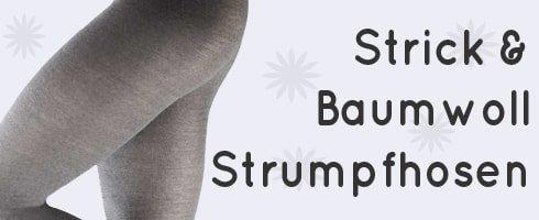 Strick & Baumwoll Strumpfhosen
