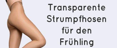 Transparente Strumpfhosen