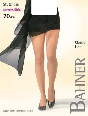 Bahner Classic Line Durchgehend Transparente Strumpfhose, im Nylon und Strumpfhosen Shop