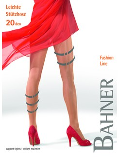 Bahner Fashion Line 20 Stützstrumpfhose Stützklasse 1