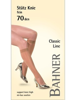 Bahner Classic Line Stuetzkniestrumpf