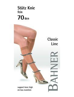 Bahner Classic Line 20 Stützkniestrumpf Stützklasse 3