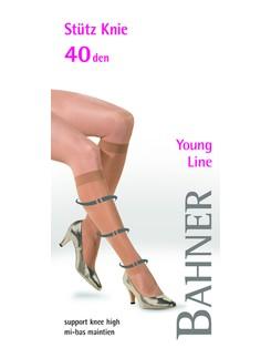 Bahner Young Line 40 Stützkniestrumpf Stützklasse 2
