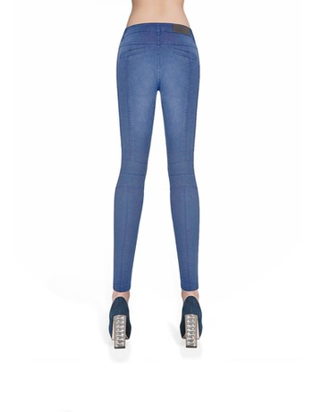 Bas Bleu Avril Treggings Damen lightblue