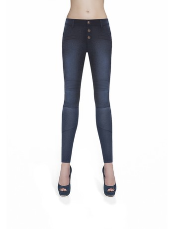 Bas Bleu Avril Treggings Damen deepblue