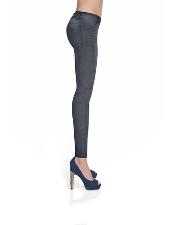 Bas Bleu Avril Treggings Damen schwarz