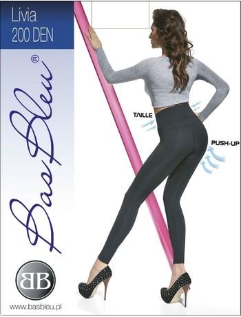 Bas Bleu Livia - Leggings schwarz