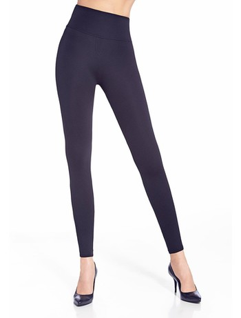 Bas Bleu Livia Shaping Leggings Schwarz blue