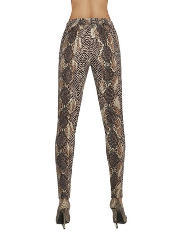 Bas Bleu Naya - Leggings brown
