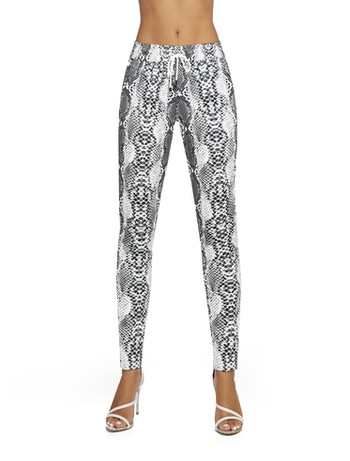 Bas Bleu Naya - Leggings grey/graphite