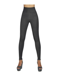 Bas Bleu Blair weiche Leggings in Jeans-Optik