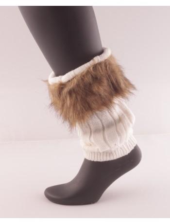 Bonnie Doon Fur Cuff Boot Top Beinstulpe