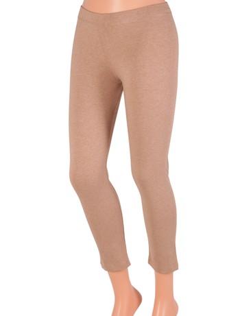Bonnie Doon Slim Fit - Leggings taupe heather