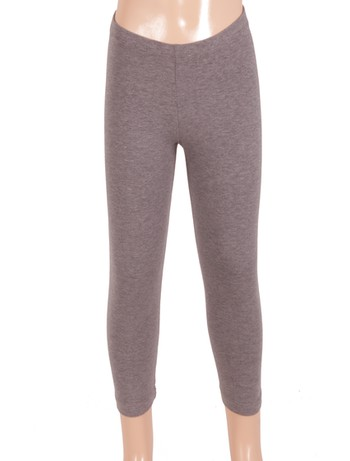 Bonnie Doon Basic Leggings medium grey heather