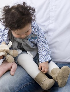 Bonnie Doon Terry Baby Strumpfhose