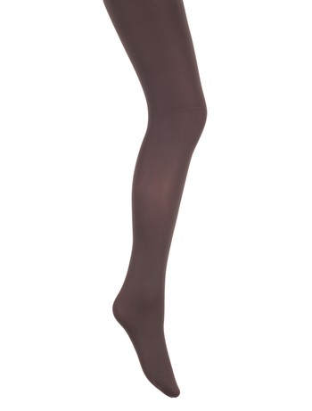 Bonnie Doon Basic blickdichte Kinderstrumpfhose dunkelgrau