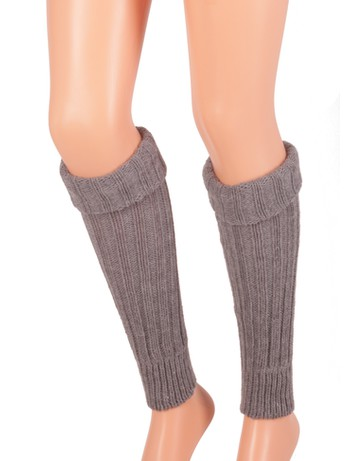 Bonnie Doon Sleever Stulpen medium grey heather