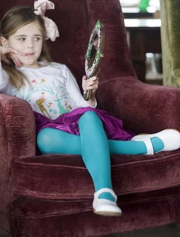 Bonnie Doon Jumeaux Strumpfhose fuer Kinder earth light