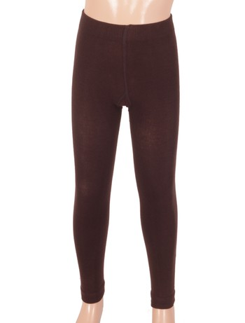 Bonnie Doon Jumeaux Kinderleggings dark brown