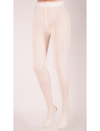 Bonnie Doon plain Cotton Strumpfhose ivory