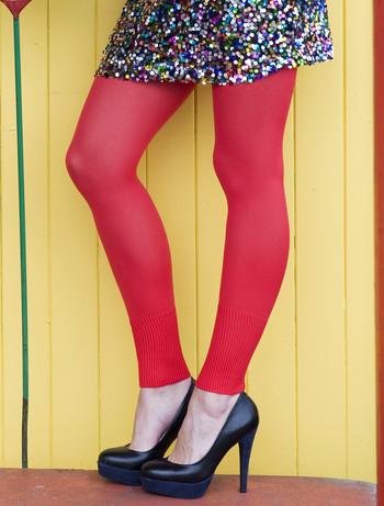 Bonnie Doon Leggings mit breiten Rippbuendchen, im Nylon und Strumpfhosen Shop