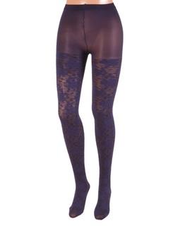 Bonnie Doon Layered Lace Strumpfhose