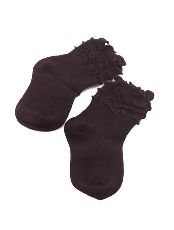 Bonnie Doon Frou Frou Kindersocken black