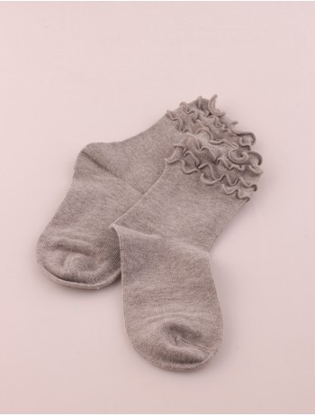 Bonnie Doon Frou Frou Kindersocken light grey heather