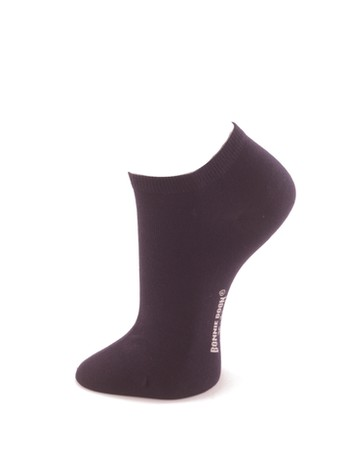 Bonnie Doon Cotton Short Sock navy