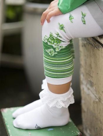 Bonnie Doon Lace Cuff Socks