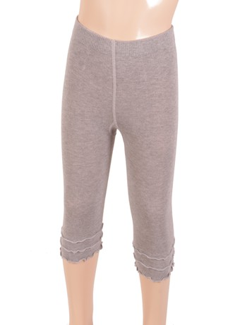 Bonnie Doon Frou Frou Capri Leggings für Kinder light grey heather