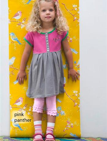 Bonnie Doon Frou Frou Capri Leggings fuer Kinder pink panther