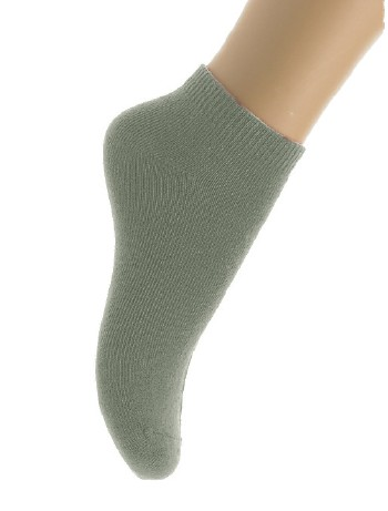 Bonnie Doon Cotton Short Kinderkurzsocken light grey heather