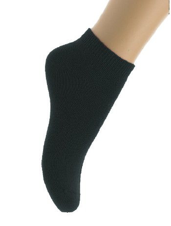 Bonnie Doon Cotton Short Kinderkurzsocken black