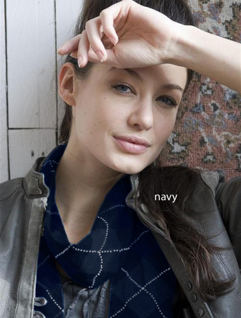 Bonnie Doon Argyle Schal navy