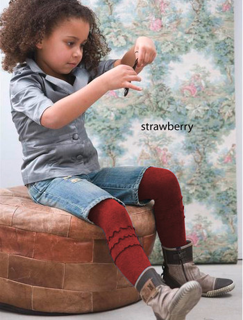 Bonnie Doon Frou-Frou Kinderstrumpfhose strawberry