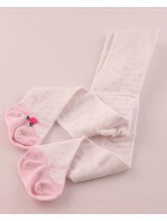 Bonnie Doon Ballerina gepunktete Baby Strumpfhose