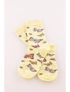 Bonnie Doon Butterflies Socken fuer Kinder
