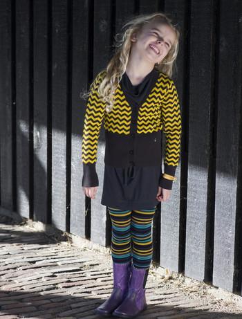 Bonnie Doon joyful Stripes Strumpfhose botanica