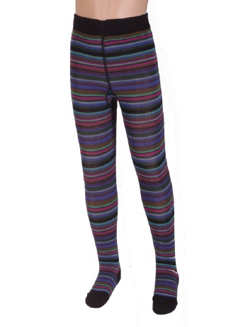 Bonnie Doon joyful Stripes Strumpfhose navy
