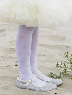 Bonnie Shiny Bow Strumpfhose