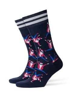 Burlington Dancing Santa Herren Socken