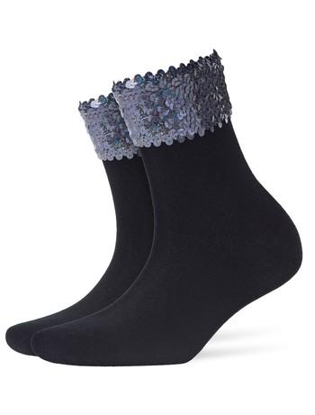 Burlington Pailletten Damen Socken