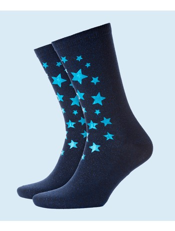 Burlington Starry Night Socken marine