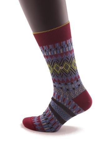 Burlington Faire Isle Herren Socken, im Nylon und Strumpfhosen Shop