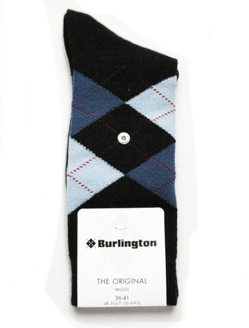 Burlington Marylebone Original Wool Damensocke, im Nylon und Strumpfhosen Shop
