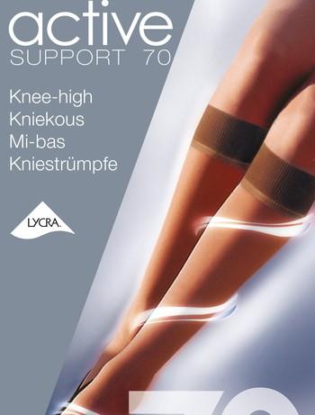 Support 70 Kniestrümpfe