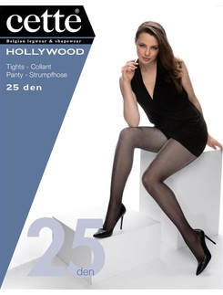 Cette Hollywood Lurex Strumpfhose